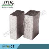 Segmento do diamante da forma do JDK K para a estaca do granito
