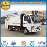 Isuzu 6 Cbm 4*2 a comprimé le camion d'ordures 6 tonnes d'ordures de camion de chariot