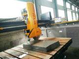 Machine de découpage automatique infrarouge de pierre de passerelle pour le découpage de brame/tuile