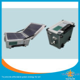 Bewegliche SolarStromnetz-u. Generator-Laptop-Aufladeeinheit