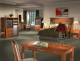 Jogo de madeira moderno do hotel da mobília do Mobília-Hotel