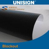 Bandiera della flessione di Frontlit della parte posteriore del nero di Unisign (LFG35/440)