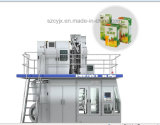 Automatische Saft-Flaschenabfüllmaschine-Zeile für Verkauf beenden