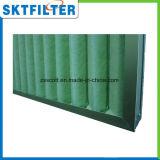 Filtro de aire del color verde G4 lavable