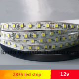No-Impermeable 2835 de alta densidad LED Luz de tira flexible