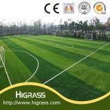 Pelouse de aménagement synthétique artificielle confortable de gazon de jardin d'herbe