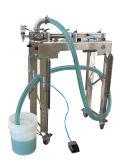 Máquina de etiquetado semi automática líquida de la máquina de rellenar del detergente para la línea de relleno