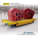 Carro plano motorizado con pilas del carro de la transferencia del carril