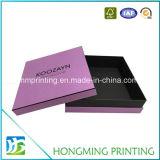 Aduana al por mayor rectángulo de regalo de la cartulina del papel de 2 pedazos