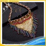 Jóias de moda Conjunto de jóias de boêmio transparente com zircônia cúbica
