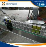 アルミ缶の炭酸飲料の充填機