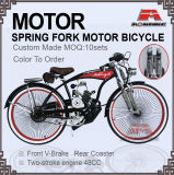 Spring Suppension Fork 48cc Engine Gas Motor Bike (MB-19-1)
