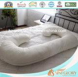 Venta al por mayor de bambú cubierta de embarazo maternidad J en forma de almohada