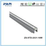 Luz linear de aluminio fresca del perfil LED del blanco CRI80 LED