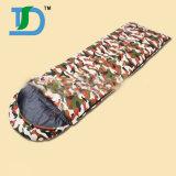 190tポリエステル3季節のフード付きのエンベロプの寝袋