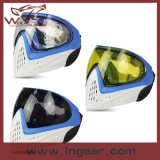 Máscara protetora cheia Anti-Fog de esporte ao ar livre de máscara protetora de Fma Paintball