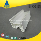 Hsp60-08 내부 창틀을%s 아시아 백색 UPVC 단면도