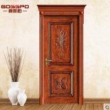 Antike geschnitzte interne Raum-Eichen-Holz-Tür (GSP2-072)