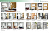 Vanità di lusso della mobilia della stanza da bagno di legno solido