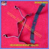 Feuille de précision estampant la bride en métal, bride d'étagère en métal (HS-LC-021)