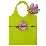 Bolso de compras plegable con la bolsa 3D, el estilo animal de la mariquita, los bolsos reutilizables, ligeros, de tienda de comestibles y práctico, regalos, promoción, accesorios y decoración