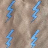 240t de afgedrukte Pongézijde van de Polyester van pvc voor OpenluchtKleren