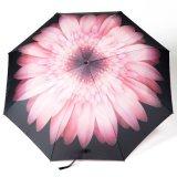 بلوط ورقة آليّة يرصّ مظلة [فولدبل] مطر مظلة لأنّ يتيح يحمل