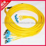 FTTH Fiber Optical D4 à LC Multiple SM Patch Cables