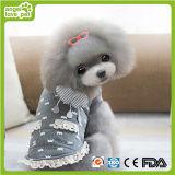Vêtements de vente chauds d'animal familier de lacet, produits d'animal familier