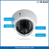 4X macchina fotografica impermeabile calda del IP della cupola dello zoom 4MP IR Poe
