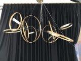주문을 받아서 만들어진 거는 장식적인 금속 펀던트 램프 (KA00111)