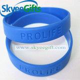 Bracelets bon marché de silicium de vente chaude de ressort de contraste de couleur