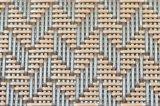 탁상 & 마루를 위한 자카드 직물 직물 PVC에 의하여 길쌈되는 Placemat