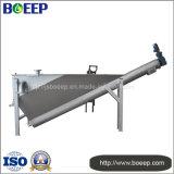 Equipo de la separación de la arena y del agua en el tratamiento de aguas residuales