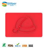 Gosses monopièce de série de Noël alimentant la plaque de silicones à vendre