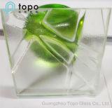 Glace chaude Tempered de fonte/glace décorative d'art (triphosphate d'adénosine)
