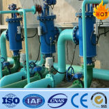 Filtre automatique de balai d'écran de traitement des eaux industriel