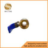 Vávula de bola de cobre amarillo femenina de la cuerda de rosca masculina con Dn20