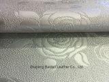 Abnutzungs-beständiges Rohstoffe Belüftung-Leder für Sofa-Polsterung
