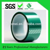 Nastro protettivo dell'animale domestico verde resistente del silicone di temperatura dell'isolamento