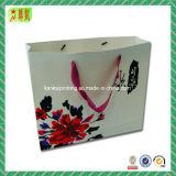 Bolso de mano colorido del papel de arte con Custome impreso