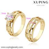 Кольцо 10701 любовника резк сниженная цена Xuping с синтетическим CZ покрыло