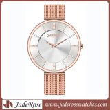Moda mais nova Warterproof Mesh Band Quartz Ladies Watch