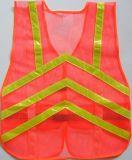 Veste reflexiva da segurança do tráfego elevado por atacado da visibilidade do Workwear com Ce