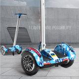 LED를 가진 소형 전기 스케이트보드 2 바퀴 균형 전기 스쿠터