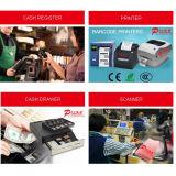 Registo de dinheiro terminal eletrônico da posição para o sistema Point-of-Sale QC-345
