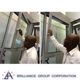 La fabbricazione di buona qualità ha personalizzato la girata di alluminio Windows di inclinazione
