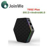 T95z más el rectángulo elegante del androide 6.0 TV del rectángulo 2g 16g de la TV