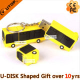 De unieke Trein USB Pendrive van de Douane van pvc 3D voor de Giften van de Spoorweg (yt-6668)