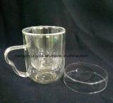 2016 Novos produtos inovadores Copo de chá de vidro de borosilicato de presente útil